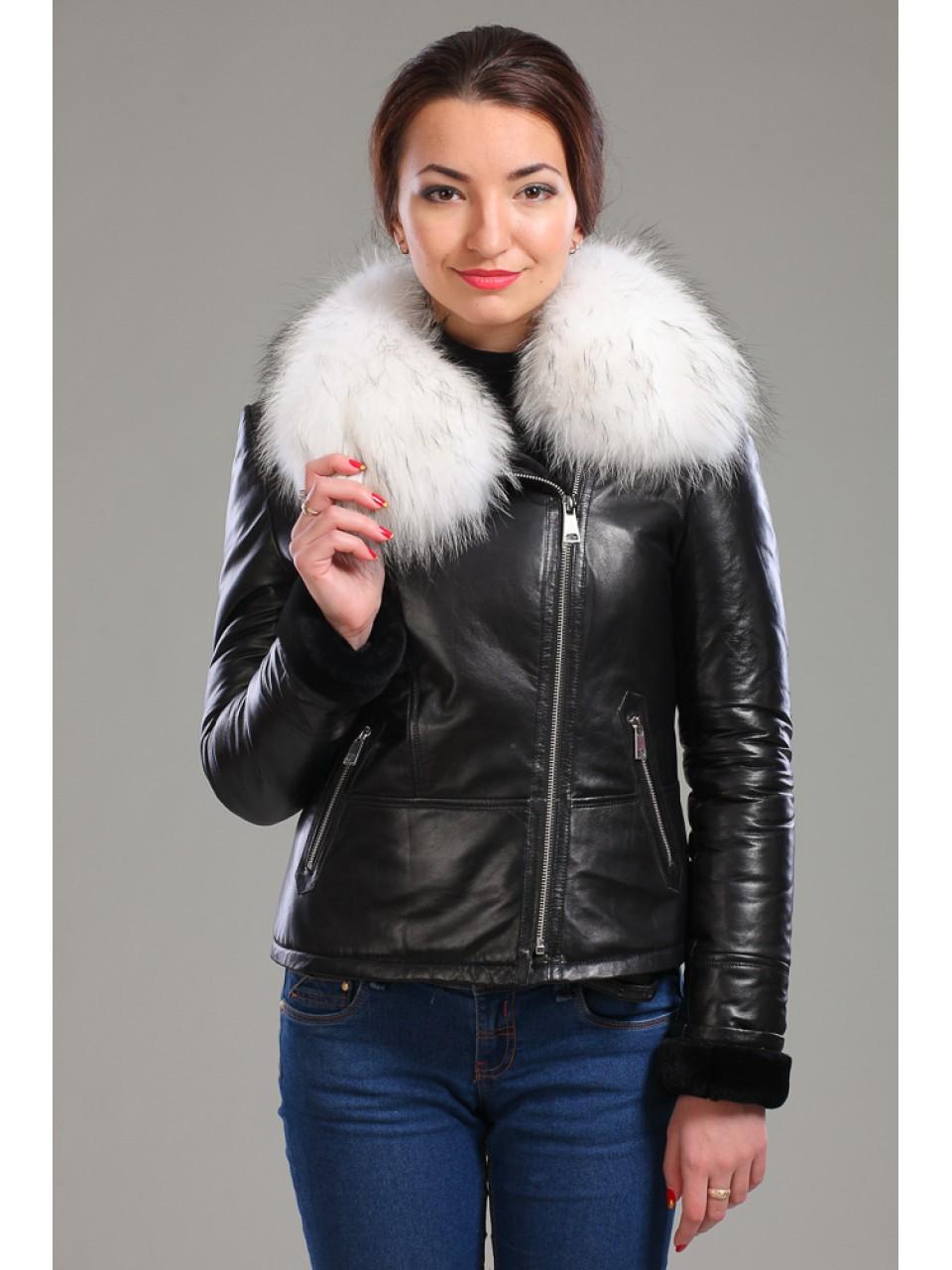 Купить Куртку С Песцовым Воротником